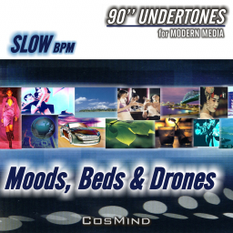 90 Undertones Slow BPM / Moods,Beds & Drones